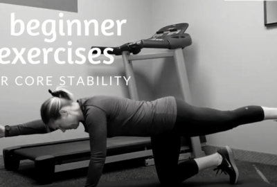 5 Beginner Exercises for Core Stability
